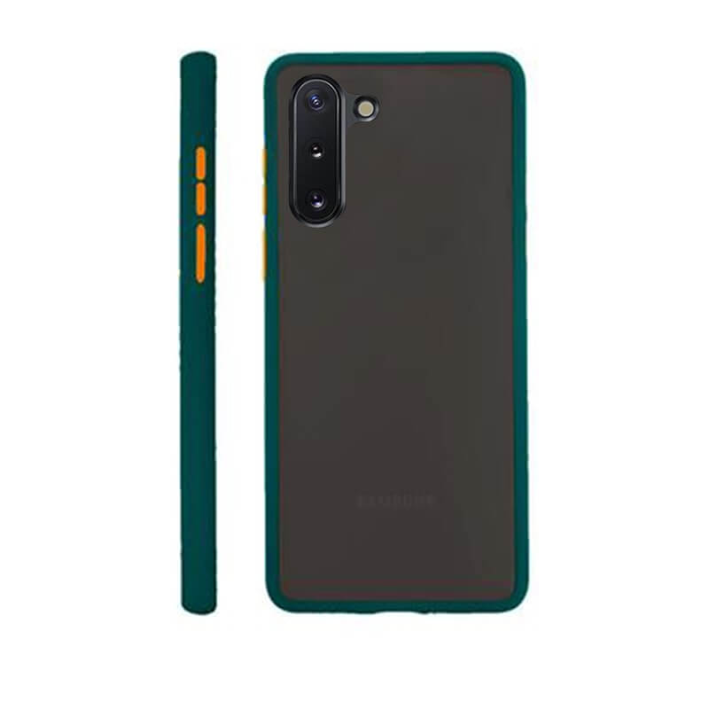 Samsung Note 10 Matte Cover - Green