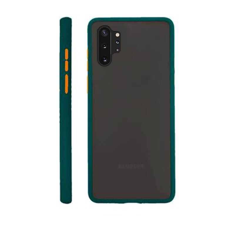 Samsung Note 10 Pro Matte Cover - Green