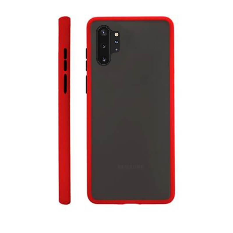 Samsung Note 10 Pro Matte Cover - Red