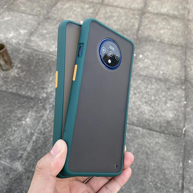 Smoke Matte Case For OnePlus 7T - Green