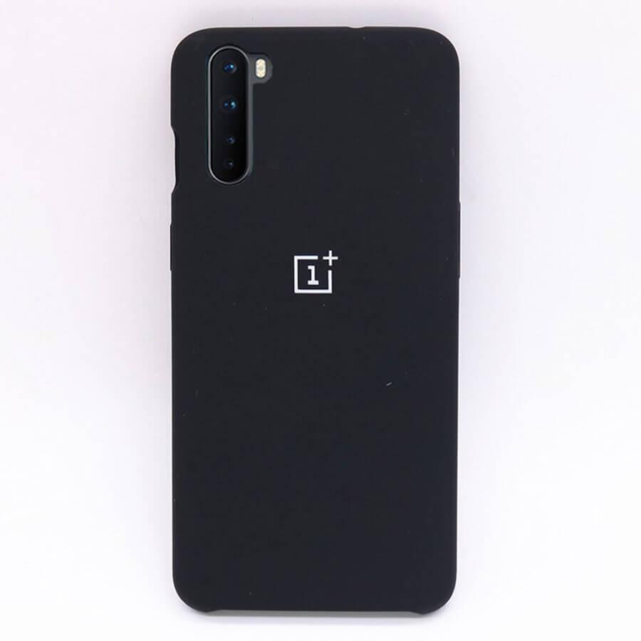 OnePlus Nord Silicone Case - Black
