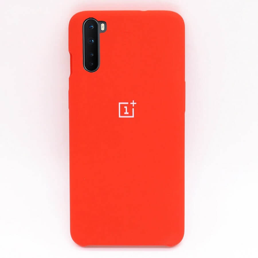 OnePlus Nord Silicone Case - Red
