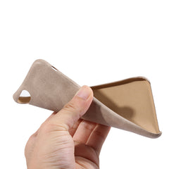 Holster Soft Leather Case For iPhone 6 / 6S - Lite Brown - Mobilegadgets360