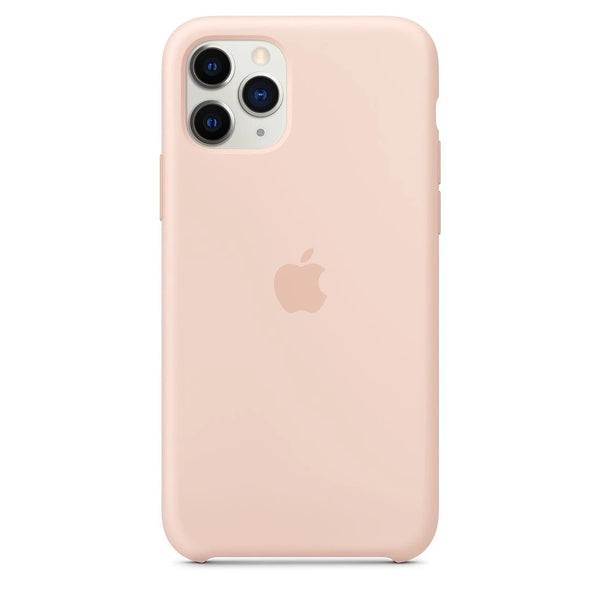 Silicon Case For iPhone 11 Pro – Golden - Mobilegadgets360