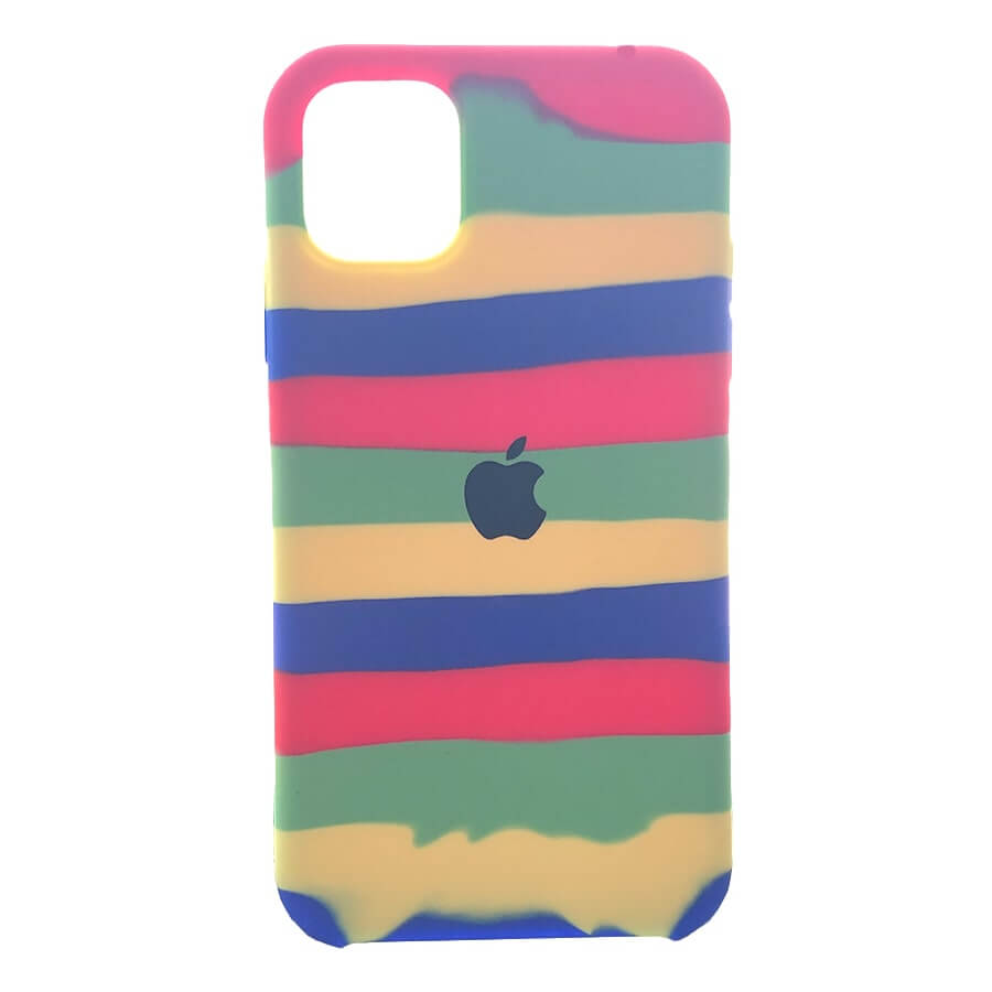 iPhone 11 Pro Silicone Rainbow Case