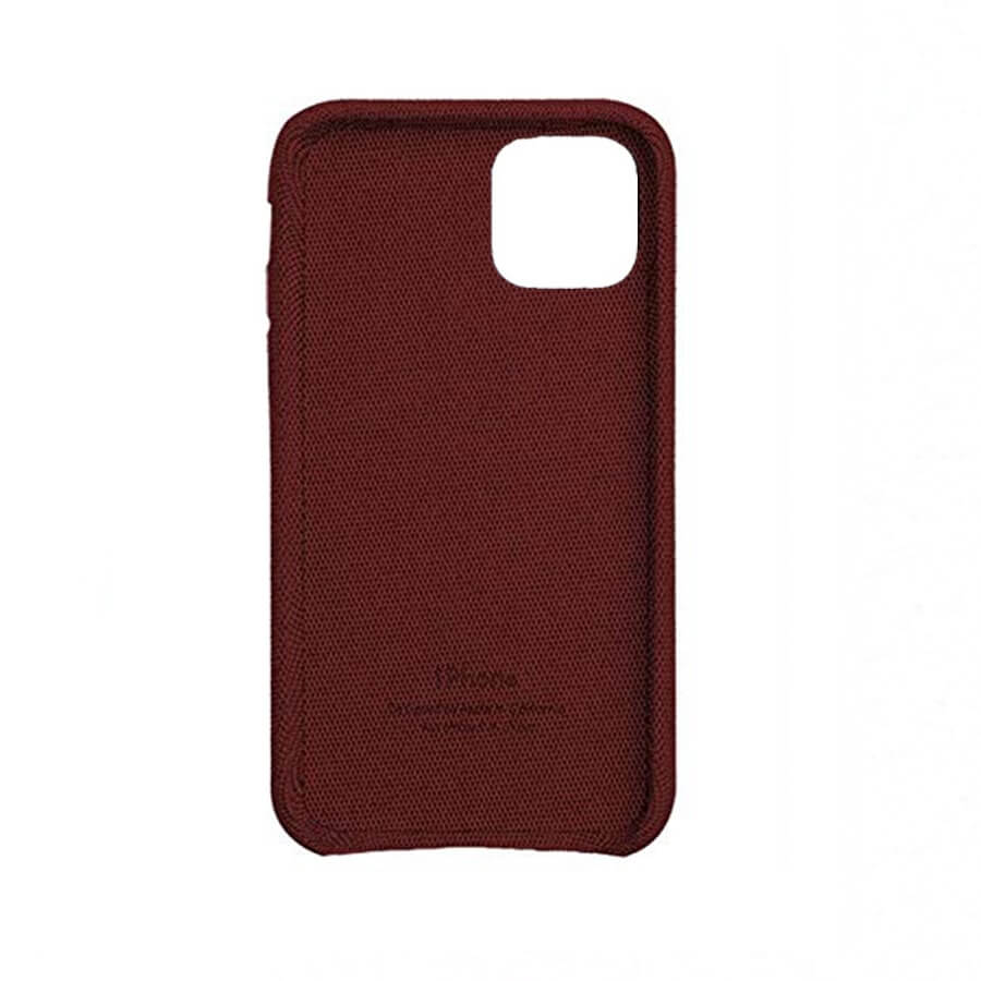Red Fabric Case - iPhone 11 Pro Max