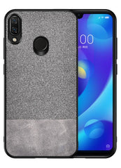 Canvas Brown Fabric Cover - Redmi Note 7S - Mobilegadgets360