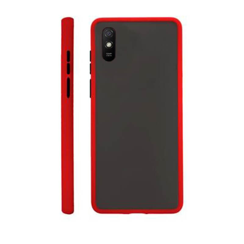 Redmi 9A Matte Cover - Red