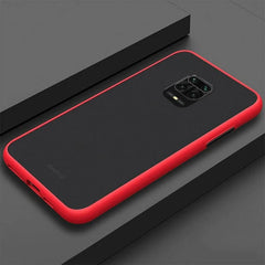Red Matte Cover - Redmi Note 9 Pro Max