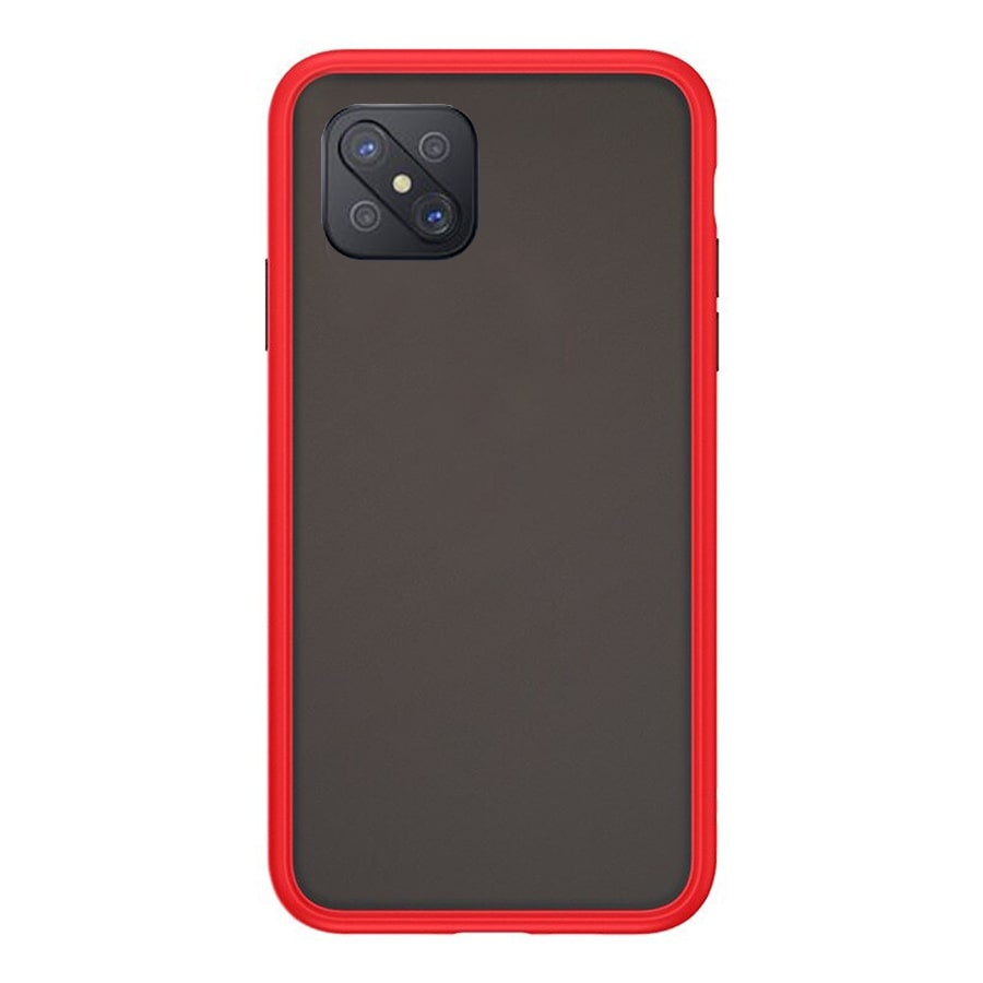 OPPO Reno 4Z Matte Cover - Red