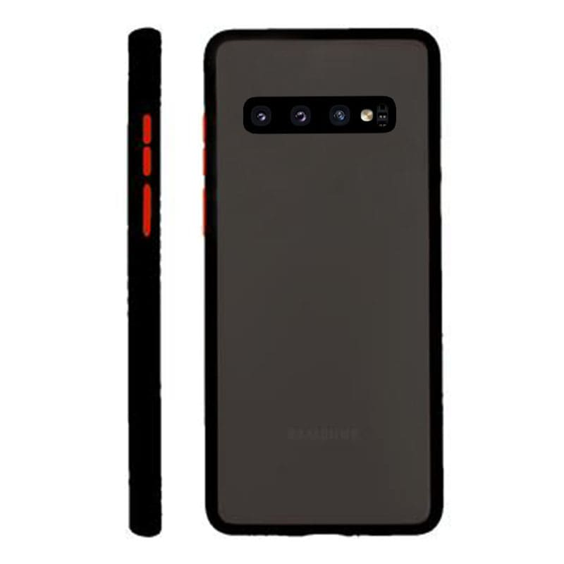 Samsung S10 Plus Matte Cover - Black