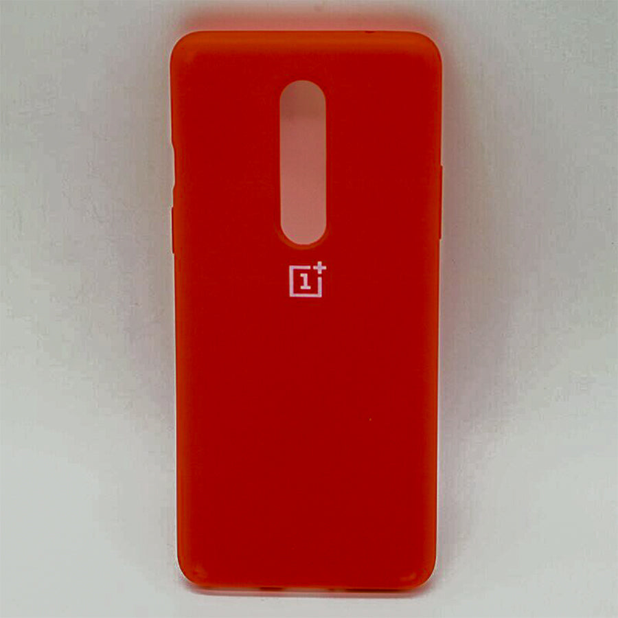 Red Silicone Case For OnePlus 7 Pro
