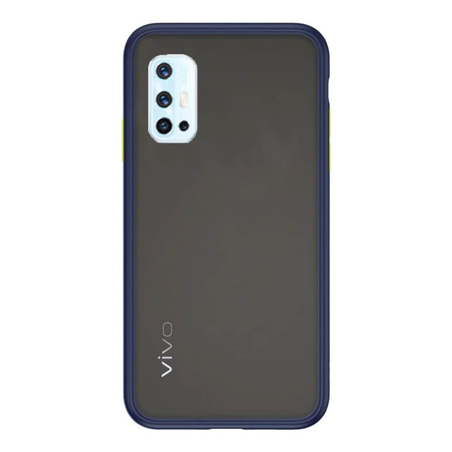 VIVO V17 & V19 Matte Cover - Blue