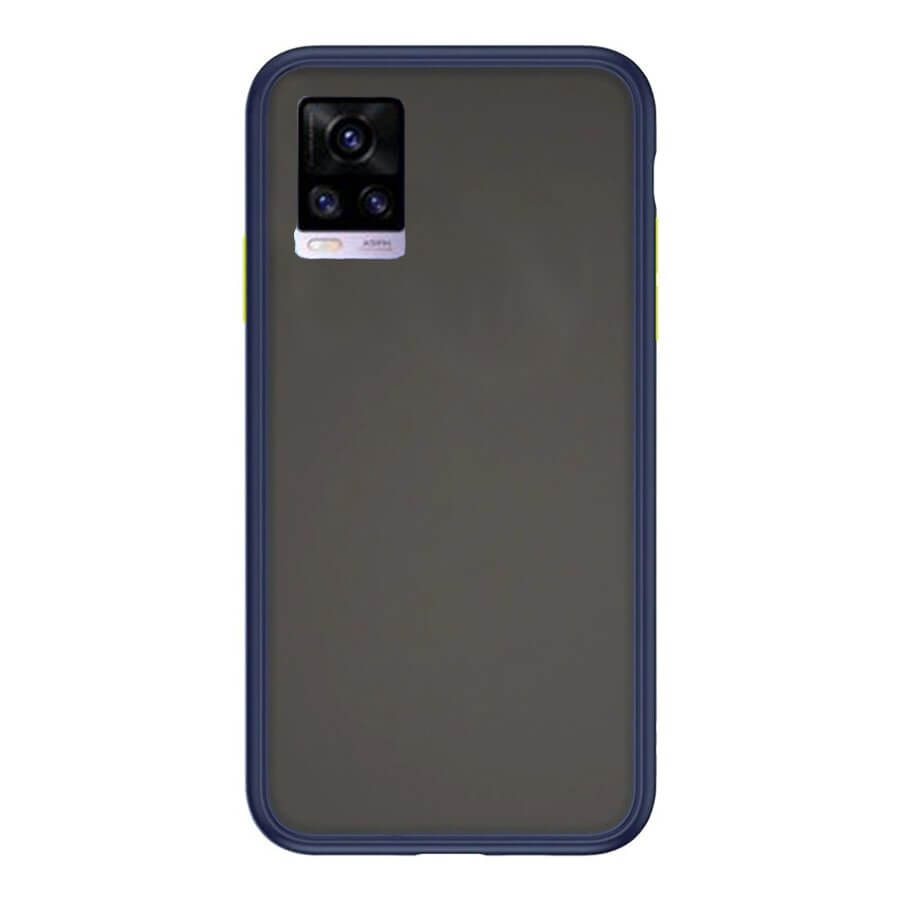 VIVO V20 Matte Cover - Blue