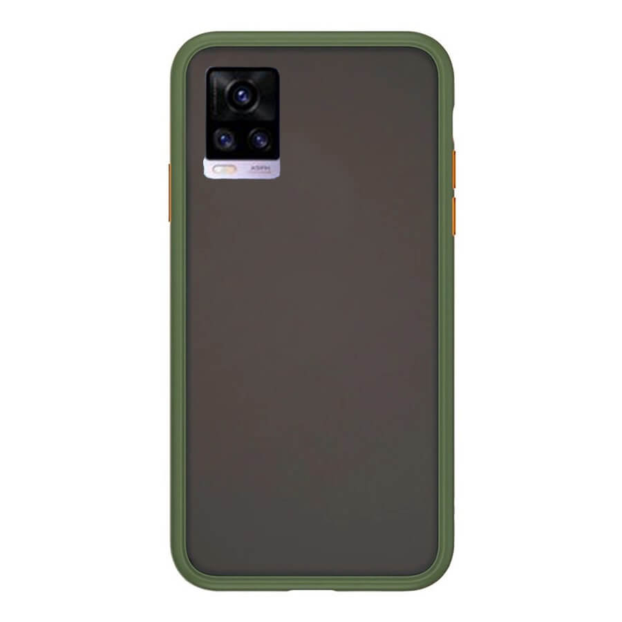 VIVO V20 Matte Cover - Olive Green