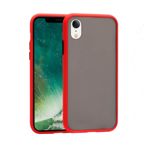 iPhone XR Matte Case - Red