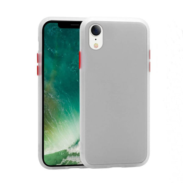iPhone XR Matte Case - White