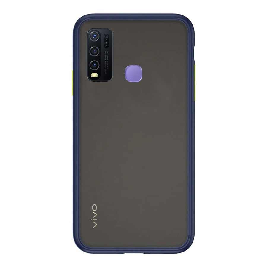 VIVO Y50 & Y30 Matte Cover - Blue