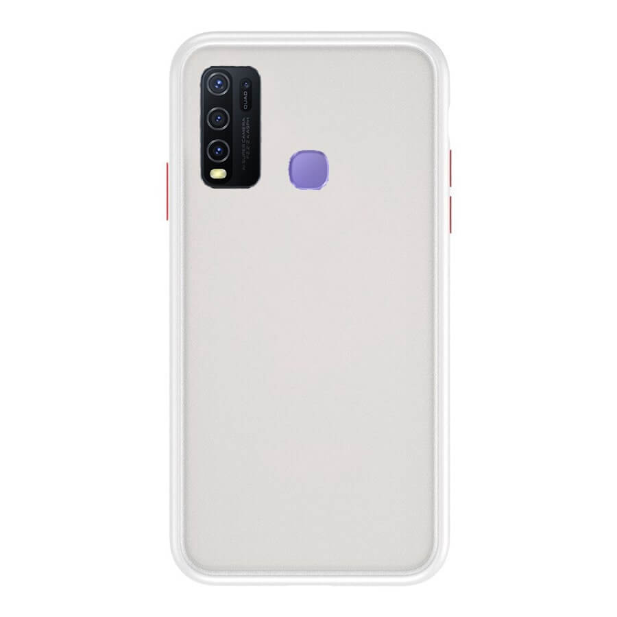 VIVO Y50 & Y30 Matte Cover - White