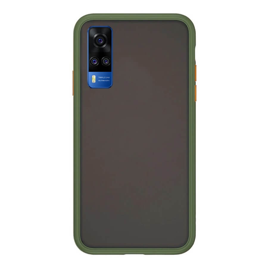 VIVO Y51 Matte Cover - Olive Green