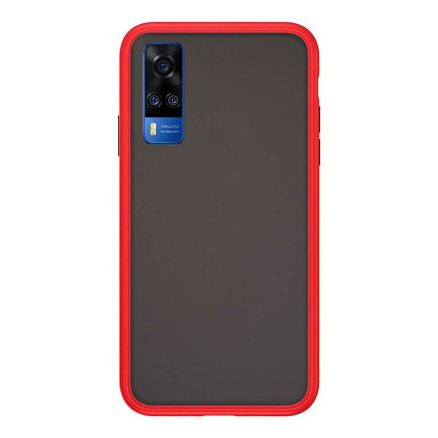 VIVO Y51 Matte Cover - Red