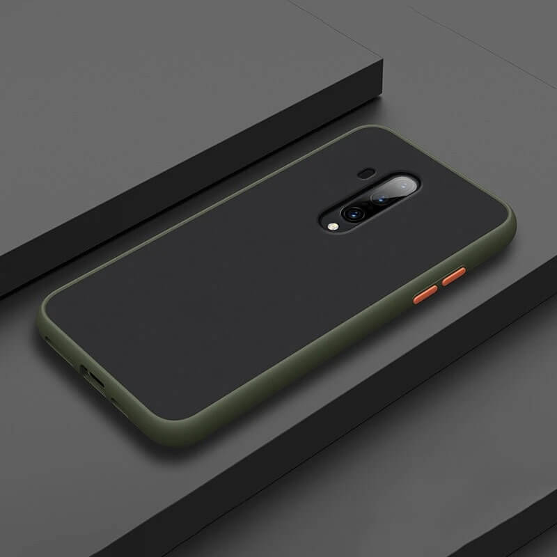 Smoke Matte Case For OnePlus 7T Pro - Light Green