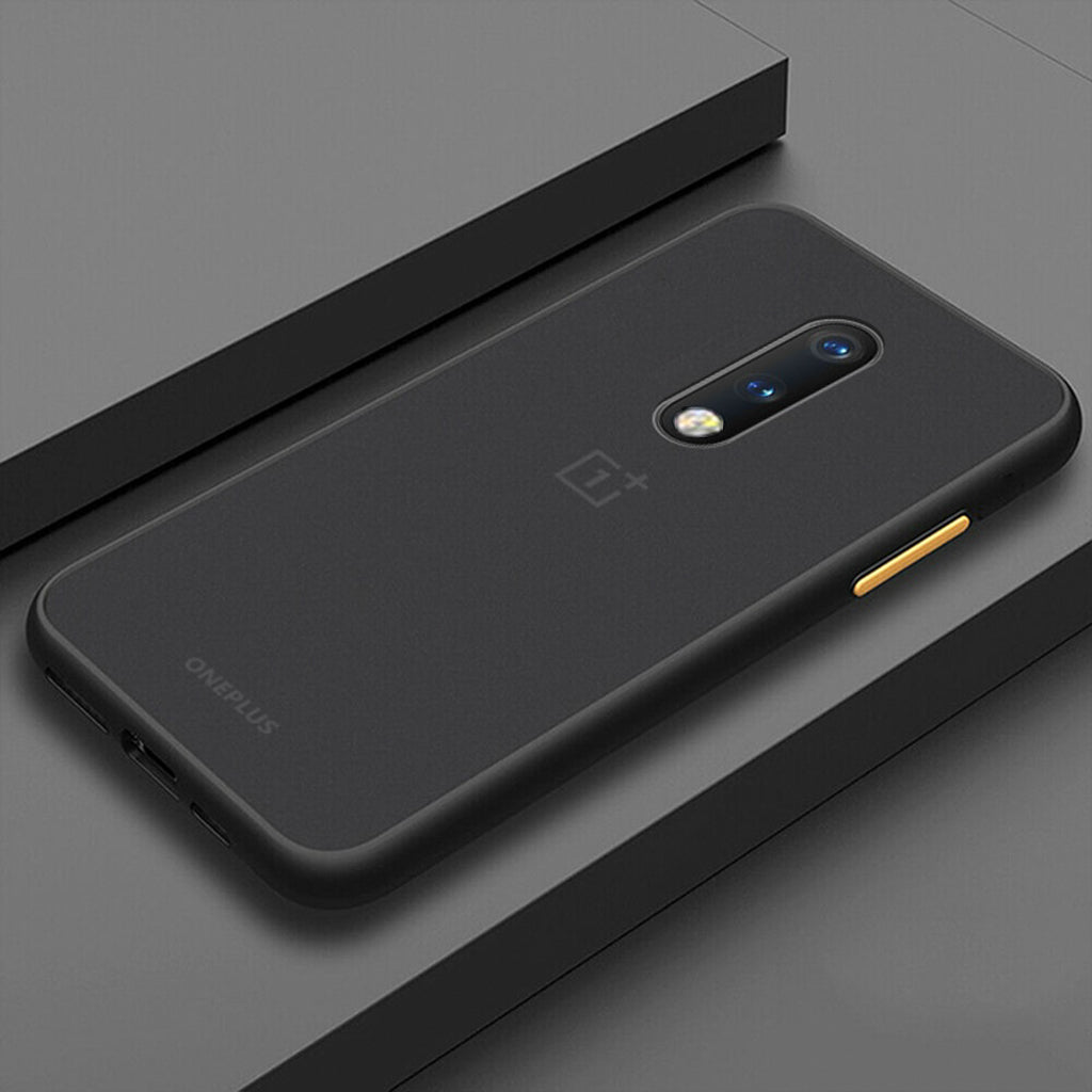 Smoke Matte Case For OnePlus 7 - Black