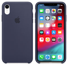 Silicone Case For iPhone XR - Midnight Blue
