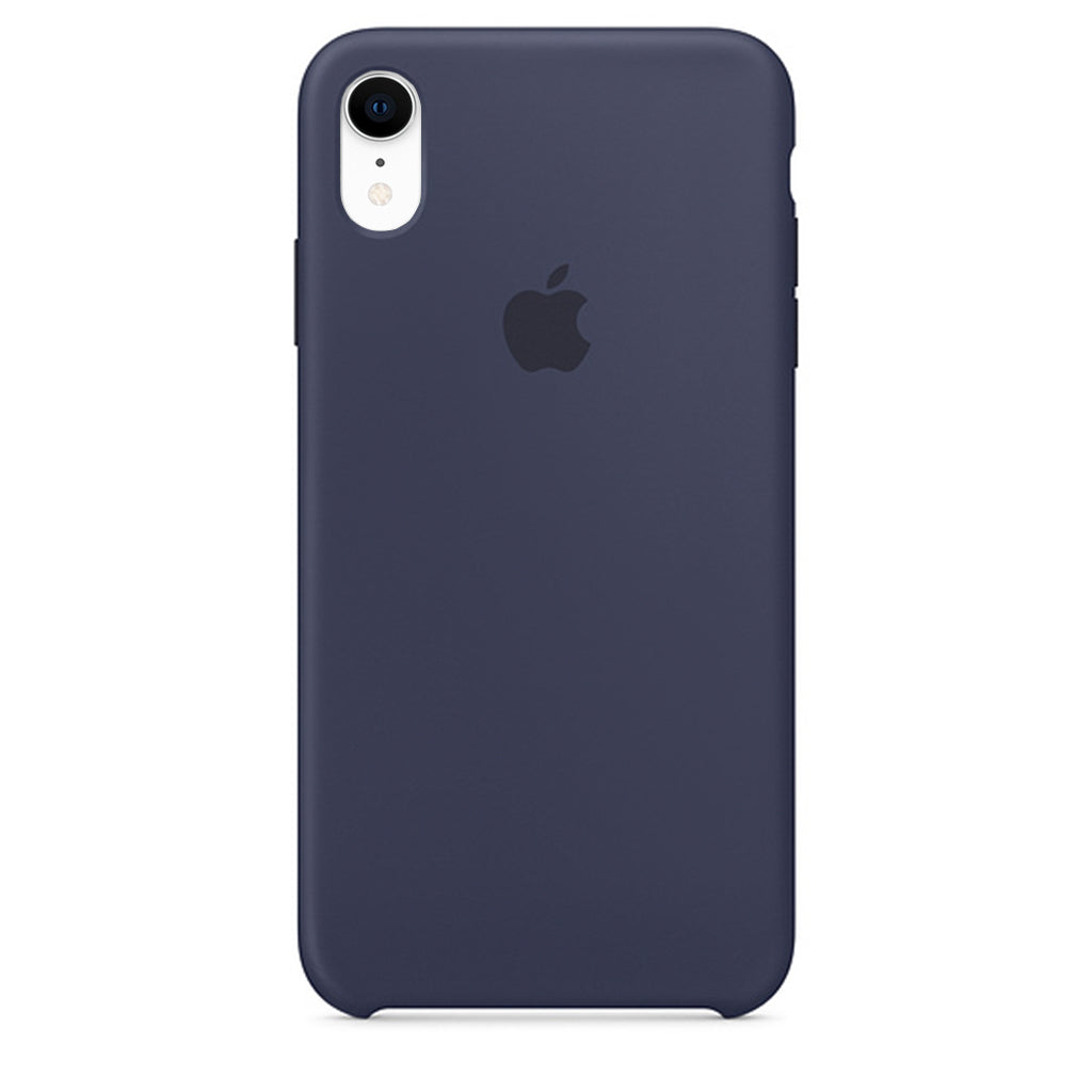 Blue Liquid Silicone Case - iPhone XR