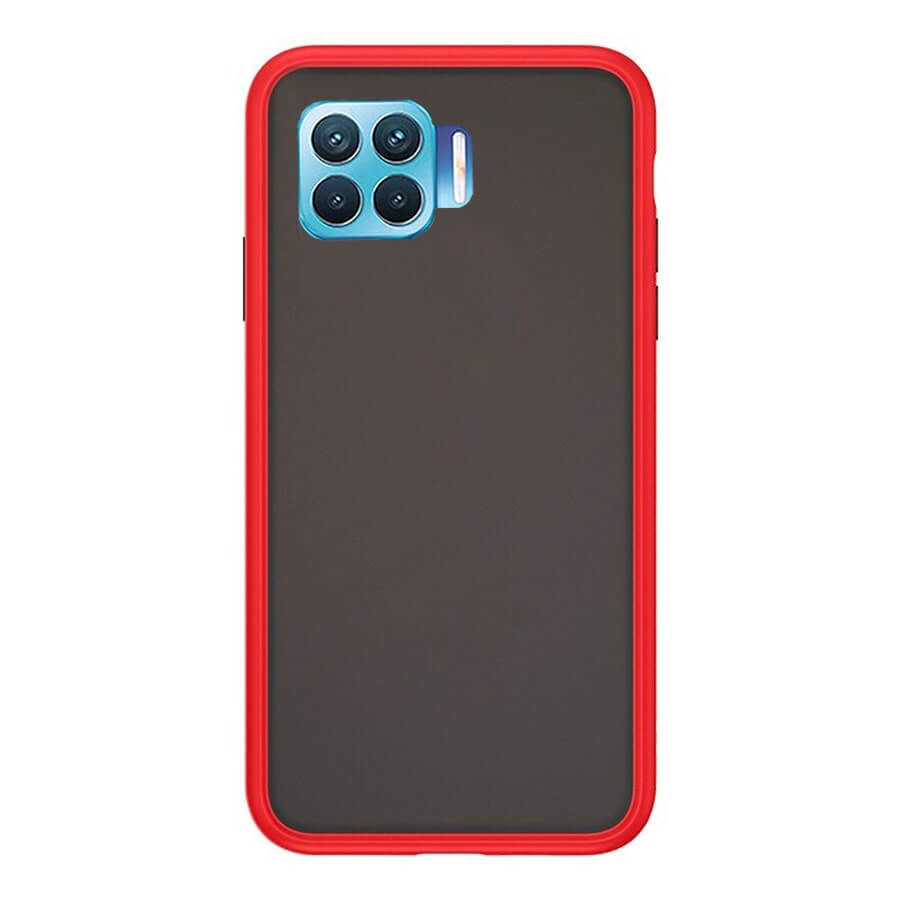 OPPO F17 Pro Matte Cover - Red