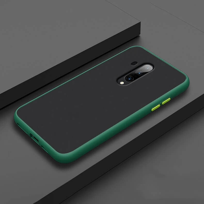 Smoke Matte Case For OnePlus 7T Pro - Green