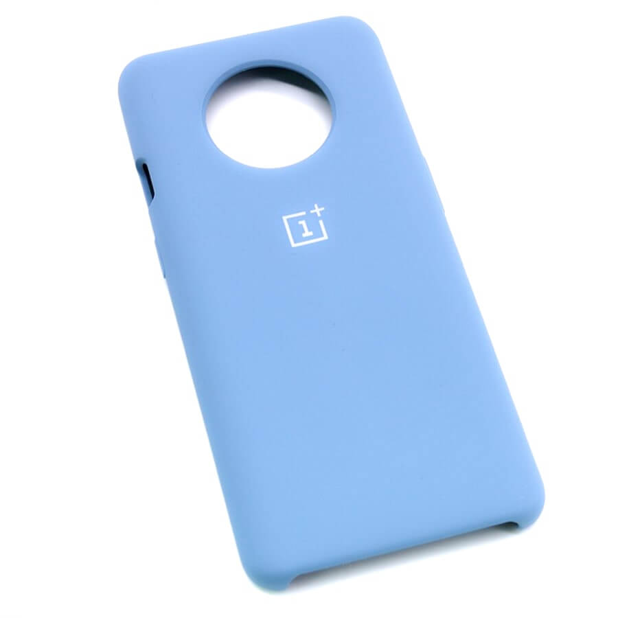 Sky Blue Silicone Case For OnePlus - 7T