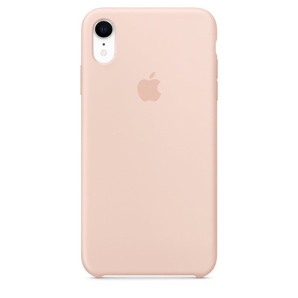 Golden Liquid Silicon Case - iPhone XR