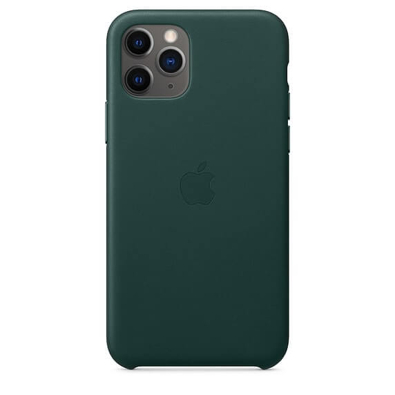iPhone 11 Pro Leather Case - Green