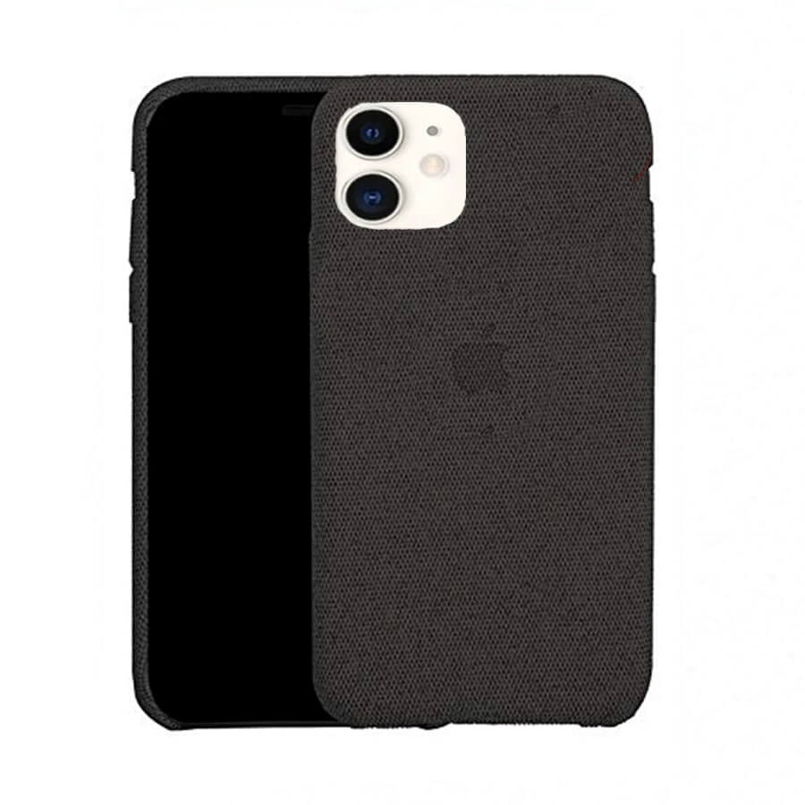 Black Fabric Case - iPhone 11