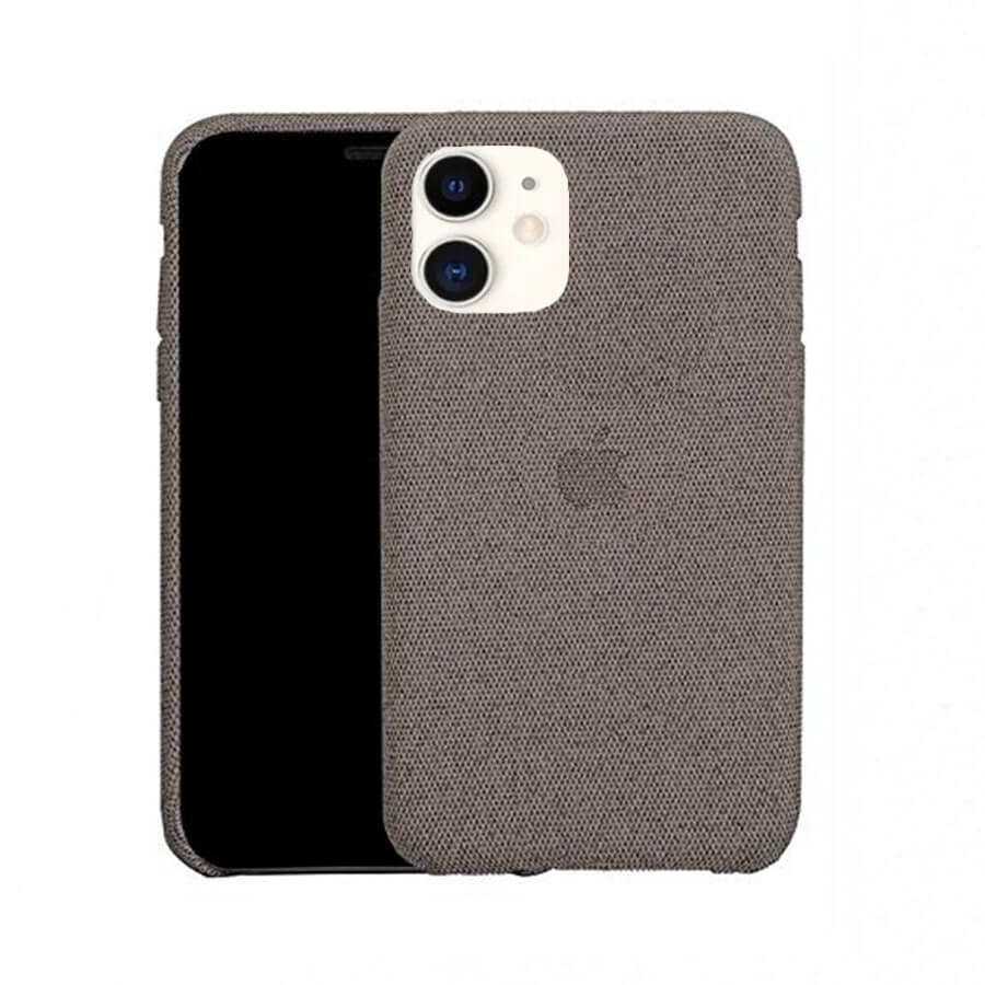 Grey Fabric Case - iPhone 11