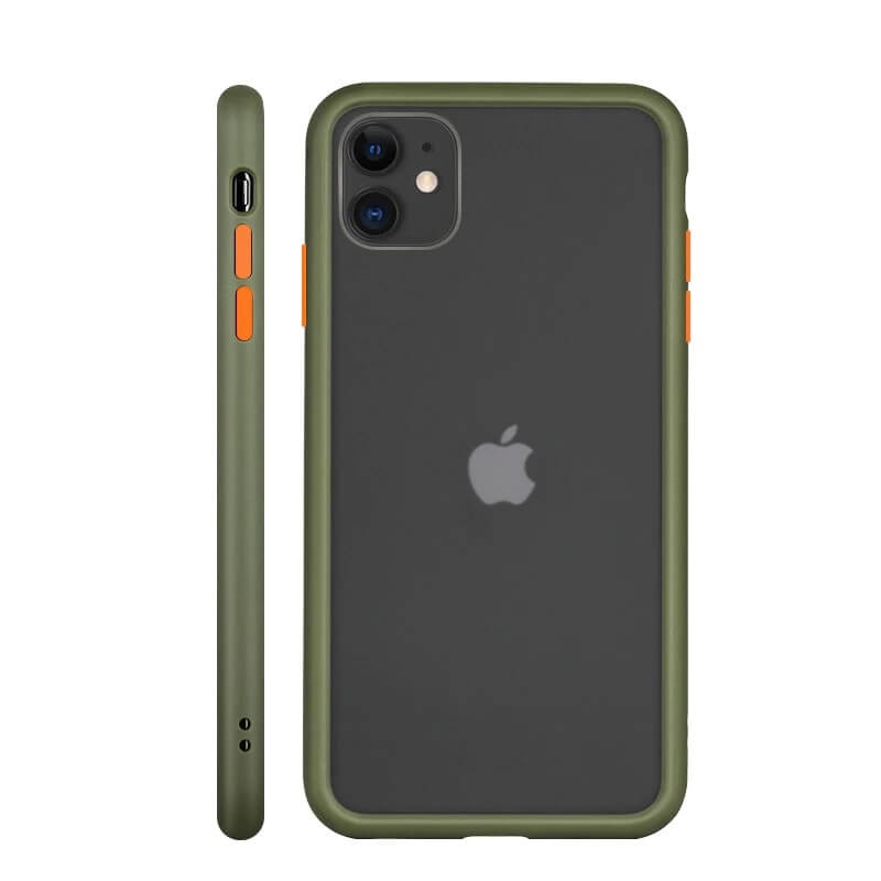 iPhone 11 Matte Case - Olive Green