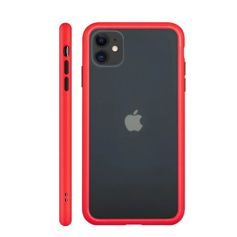 iPhone 11 Matte Cover - Red