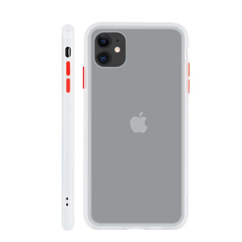 iPhone 11 Matte Case - White