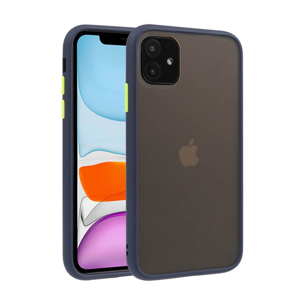 iPhone 11 Matte Case - Blue