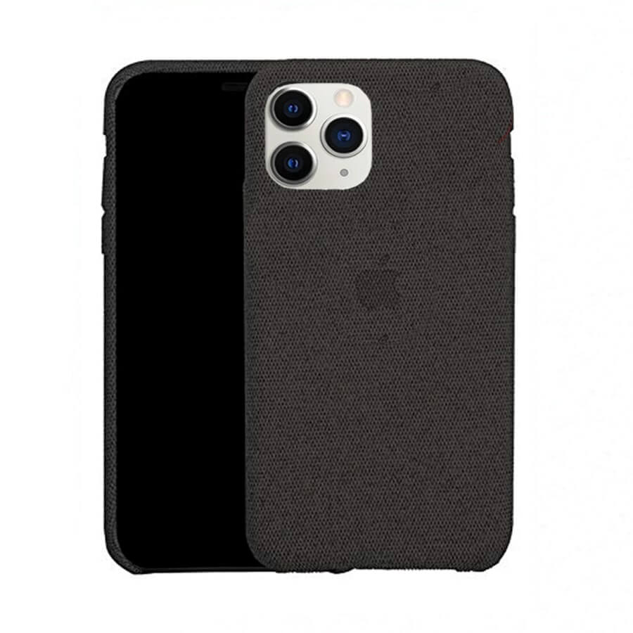 Black Fabric Case - iPhone 11 Pro