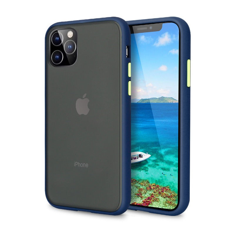 iPhone 11 Pro Max Matte Case - Blue