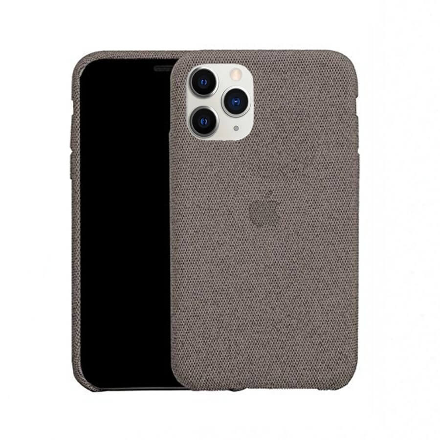 Grey Fabric Case - iPhone 11 Pro