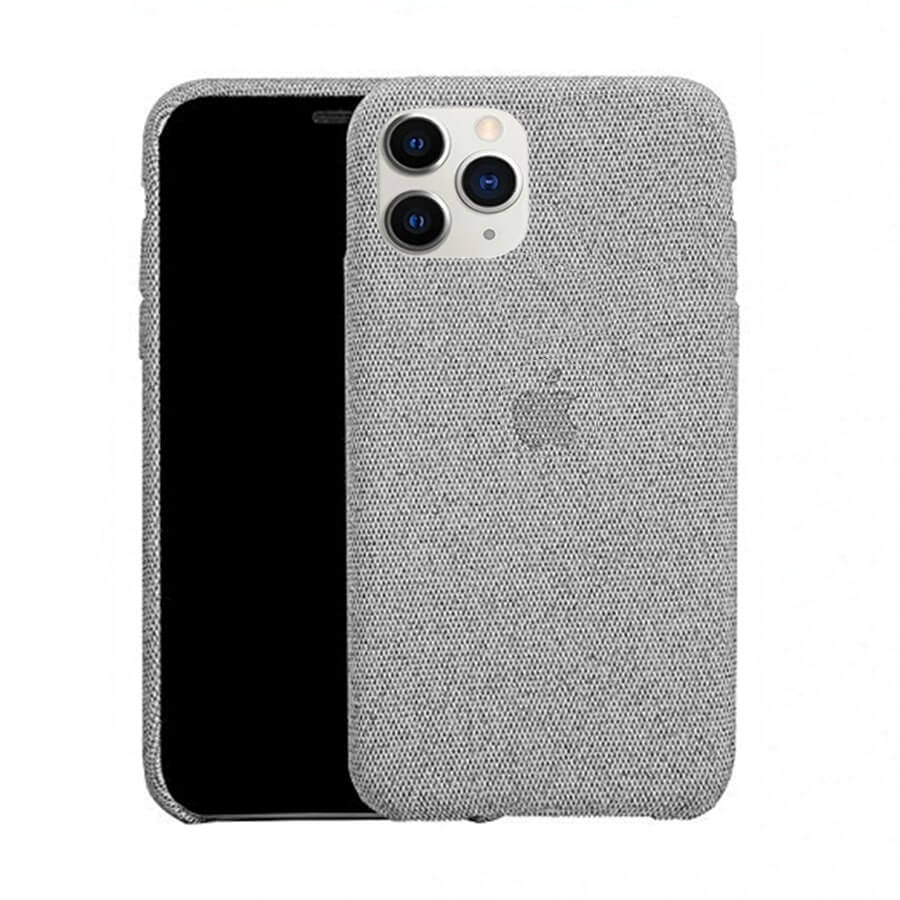 Light Grey Fabric Case - iPhone 11 Pro
