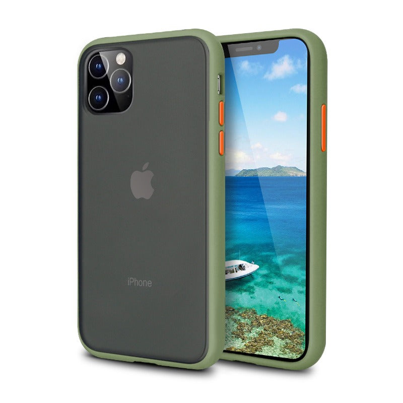 iPhone 11 Pro Matte Case - Olive Green