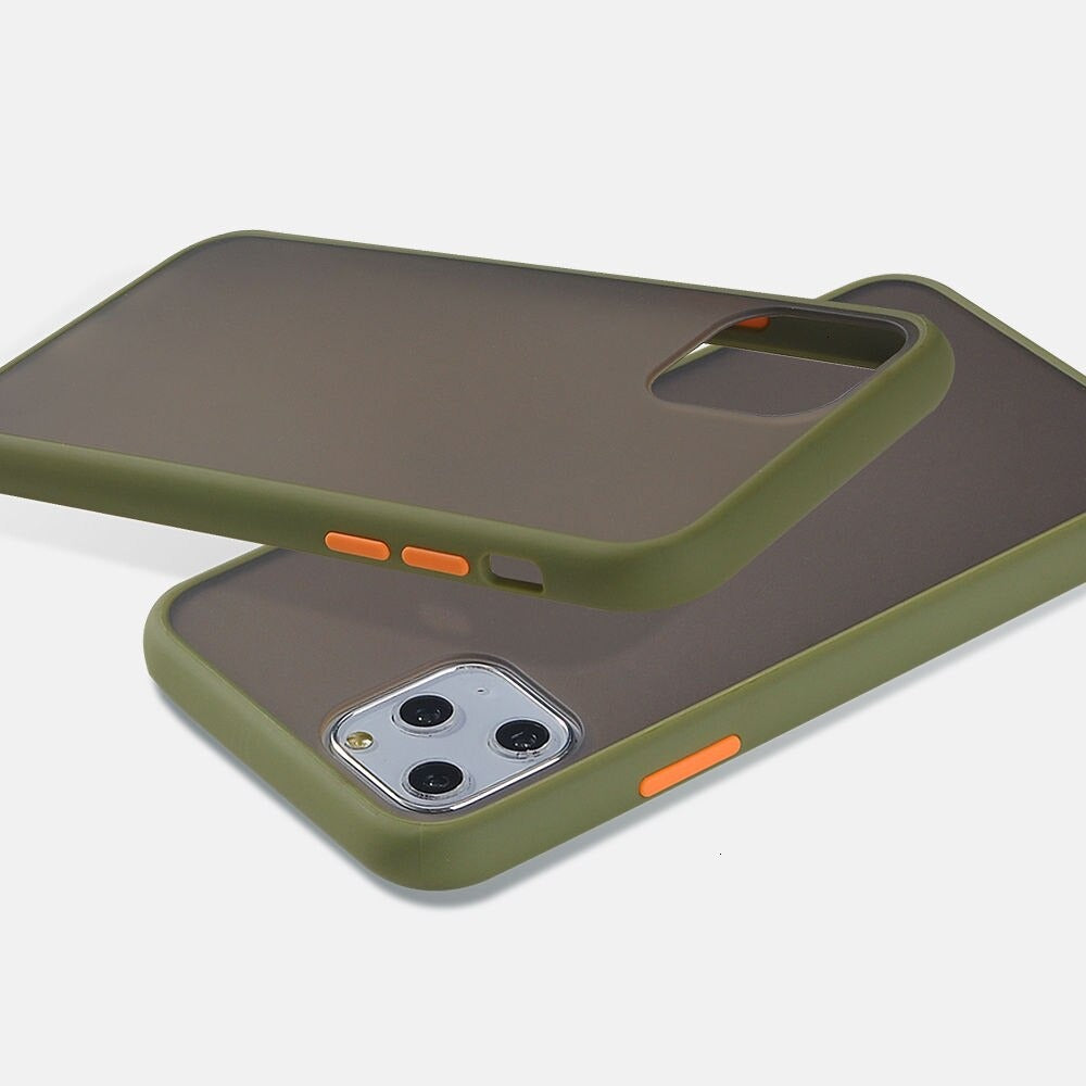 iPhone 11 Pro Matte Cover - Olive Green