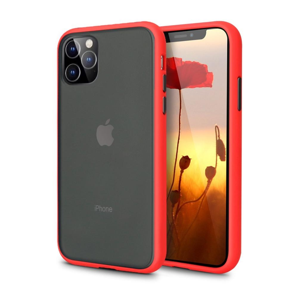 iPhone 11 Pro Max Matte Case - Red