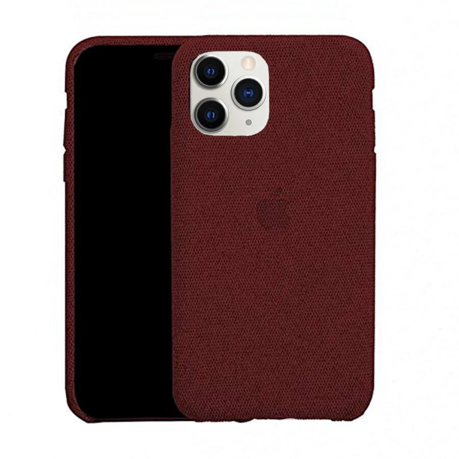 Red Fabric Case - iPhone 11 Pro