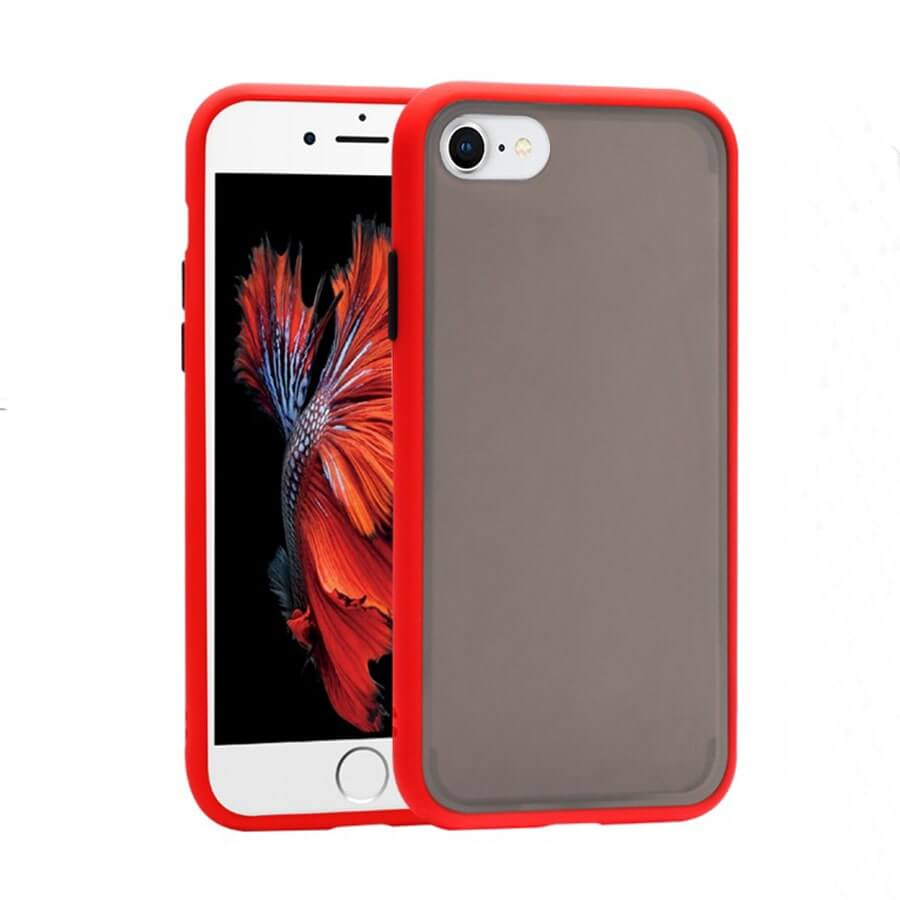iPhone SE Matte Case - Red