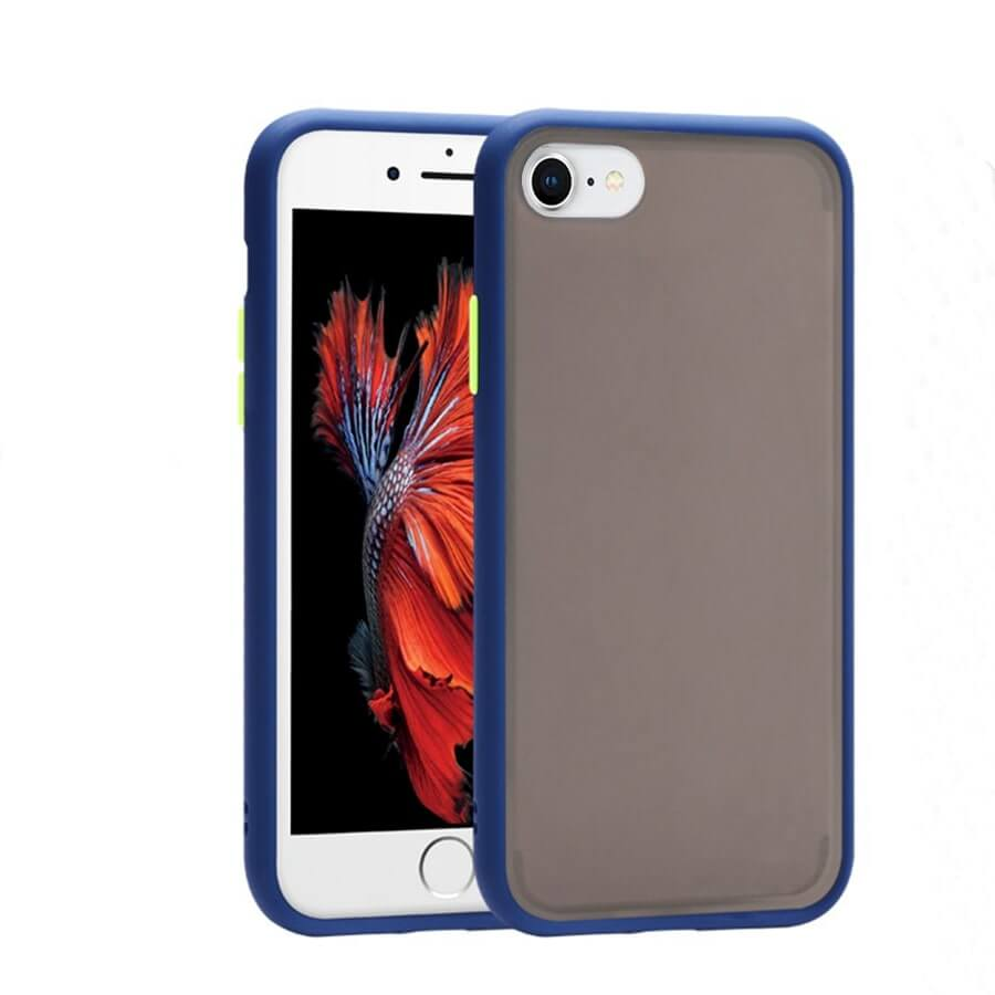 iPhone SE Matte Case - Blue
